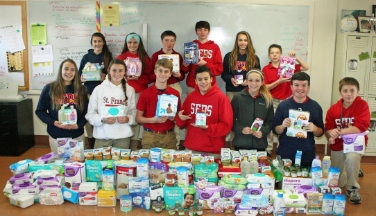 SFDS 2015 Baby food drive