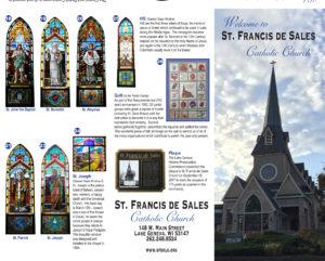 church tour brochure st francis de sales catholic church